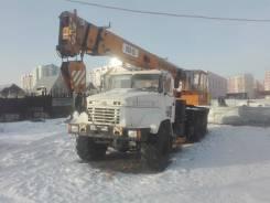 Силач КТА-25. Автокран КрАЗ-63221 (КТА-25), 14 860куб. см., 21,50м.