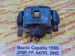 Суппорт тормозной Mazda Capella Mazda Capella 02.03.1998, левый передний