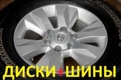 """Колёса с шинами =Toyota= R17! 2018 год! (№ 106025). 7.5x17"""" 6x139.70 ET30"""