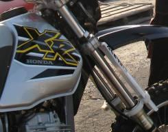 Защита вилки Honda XR250