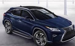 Подножки пороги Lexus RX300 RX350 RX350L RX450h с 2015 Premium
