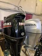 Продам лодочный мотор Suzuki DF100BETL 2019г