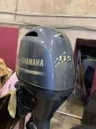 Продам мотор лодочный Yamaha F115BETL 2018г