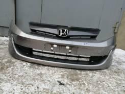 Бампер передний в сборе с губой на Honda Airwave до рестайл