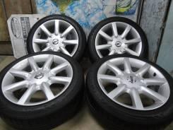 """Продам Стильные Фирменные колёса Nissan Gloria Y34+Лето 205/50R17. 7.5x17"""" 5x114.30 ET35"""