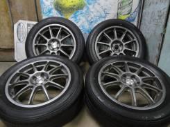 """Продам Редкие Фирменные колёса OZ Racing Prodrive+Лето Жир 215/55R17. 7.0x17"""" 5x100.00 ET52 ЦО 56,0мм."""