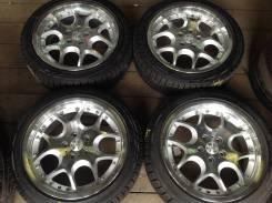 "225/45R18 Bridgestone зима, диски 5x114.3 Euro Hart made in Japan!. 7.5x18"" 5x114.30 ET45"