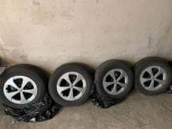 """Продам или Обменяю комплект штатных колес Prius 30 рестайл. 6.5x15"""" 5x100.00 ET45 ЦО 54,1мм."""