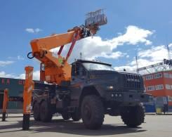 Hansin HS 450A. Автогидроподъемник Hansin HS 450А 45 метров на шасси Урал NEXT, 6 650куб. см., 45,00м.