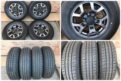 "195/80R15 Bridgestone H/T 684 II с литьем Suzuki Jimny новое все 19 г. 5.5x15"" 5x139.70 ET5 ЦО 108,1мм."