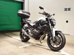 Yamaha MT-07, 2017