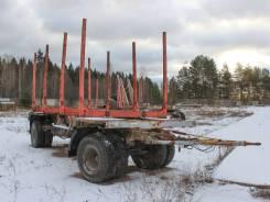 МАЗ 837810-020. Прицеп сортиментовоз на 20 кубов 2010 года, 20 000кг.