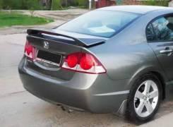 Спойлер Modulo style со стоп-сигналом Honda Civic 4D седан 2006-2011