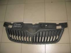 Решетка радиатора Skoda Fabia MK2 5J 2007-2014 [5J0853668C]