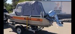 Продам лодку Вельбот 46 с мотором Хонда 30