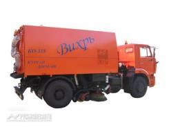 Кургандормаш КО-318Д. КО-318Д на шасси Камаз-53605 вакуумная подметально-уборочная (пылесос)