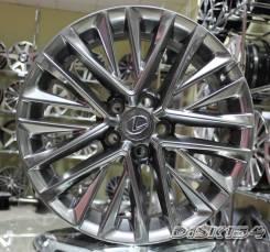 Новые диски R18 5*114.3 на Toyota Camry Lexus IS GS ES RX NX Графит