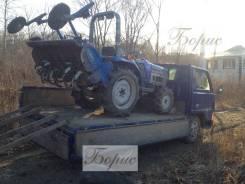 Услуги мини трактора . Вспахать землю трактором. услуги экскаватора.
