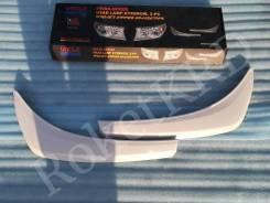 Реснички фар белые Toyota land cruiser 200 12-15г