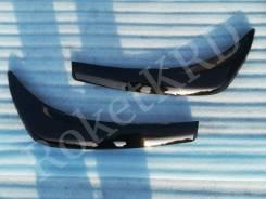 Реснички фар черные Toyota land cruiser 200 12-15г