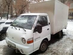 Hyundai Porter. Продам грузовик с будкой в отс!, 2 200куб. см., 1 000кг., 4x2