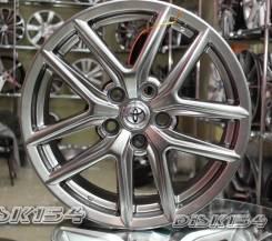 Новые диски R17 5x114.3 Toyota Camry Corolla Lexus ES RX NX Графит