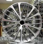 Новые диски R17 5x114.3 на Toyota Camry V70 2018