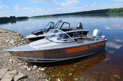 Алюминиевая лодка Wellboat-42NexT классика