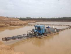 Земснаряды для добычи песка и гравия. Аренда земснаряда.