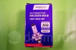 Лампа головного света AVANTECH H4 (HB2) 12V 60/55W