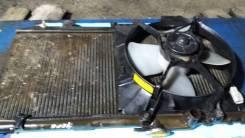 Радиатор охлаждения двигателя. Toyota Corsa Toyota Corolla, TE20, TE21, TE25, TE26, TE27, TE28 Toyota Tercel 2TC, 3KC