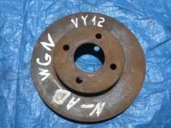 Диск тормозной передний Nissan AD WY12