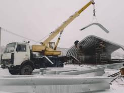 Услуги Автокрана 14 тонн 14 метров от 800 р/ч