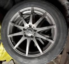 """Комплект колес на литых дисках R18 5*114,3, Toyo Tranpath R30 235/50/18. 7.0x18"""" 5x114.30 ET48 ЦО 73,1мм."""