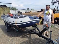 Продам лодку ПВХ sun marin корея