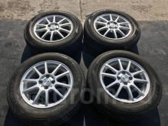 "195/65 R15 Dunlop EC203 литые диски 4х100. 5.5x15"" 4x100.00 ET45 ЦО 67,1мм. Под заказ"