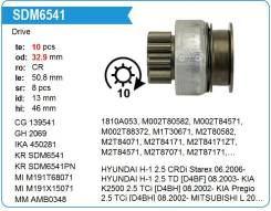 Бендикс Стартера Mitsubishi MD618963