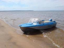Продам лодку Казанку 5М2 с мотором