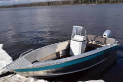 Алюминиевая лодка NewStyle-411 консоль