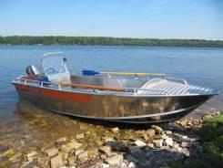 Алюминиевая лодка Wellboat-46 консоль