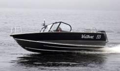 Алюминиевая лодка Wellboat-53 Fish