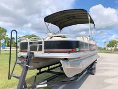 Понтонный катер Suntracker fishing barge 21