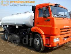 КамАЗ 43253. Пищевая цистерна водовоз/молоковоз 7500л Камаз 43253, 10 000кг., 4x2. Под заказ