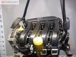 Двигатель Renault Scenic 2 2007, 1.6л бензин (K4M 766)