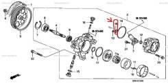 Уплотнение насоса ГУР 91349-PNC-003 Honda OriginaL