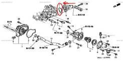 Упплотнение патрубка системы охлаждения Honda