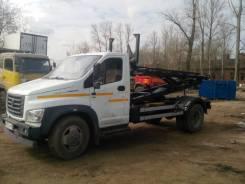 ГАЗ ГАЗон Next. Тросовый мультилифт МСК Газон Некст. Под заказ