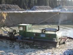 Земснаряд Doepke, для добычи песка и гравия. Аренда земснаряда.
