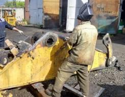 Сварочный ремонт строительной техники СО2
