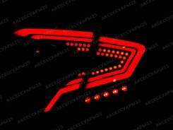 Стопы (фонари) LED тюнинг для Toyota C-HR 2016-2019г. Красные